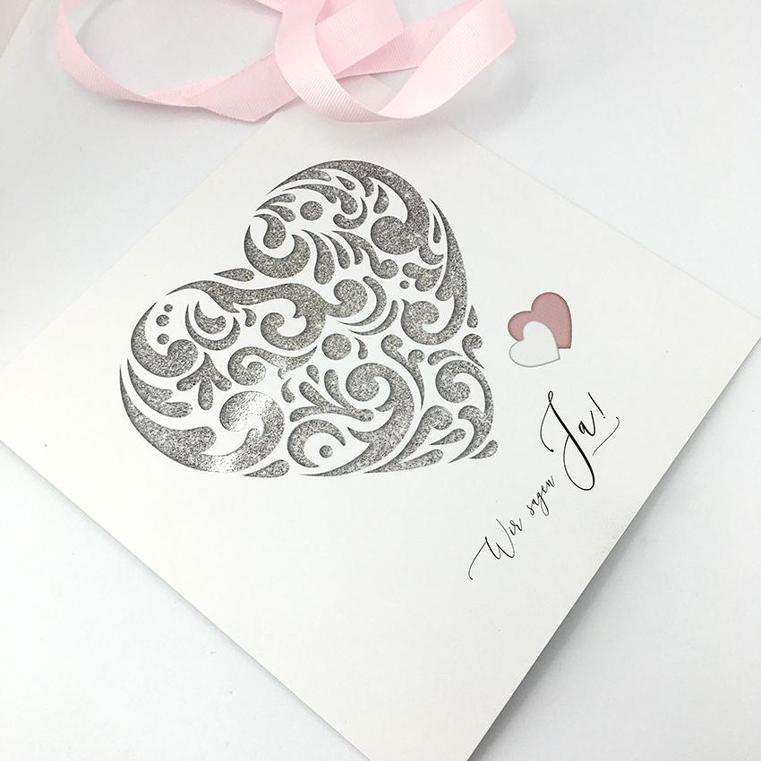 Hochzeitseinladung hello! Designstudio, Katrin Scheichelbauer, Gestaltung