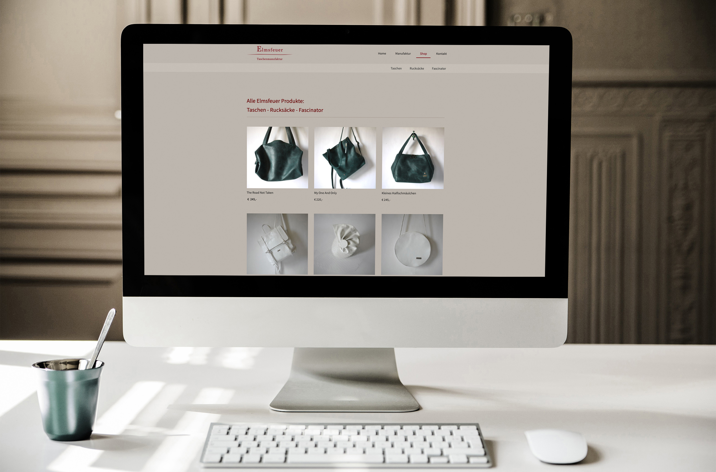 Website, Webshop, Onlineshop, Webdesign hello! Designstudio