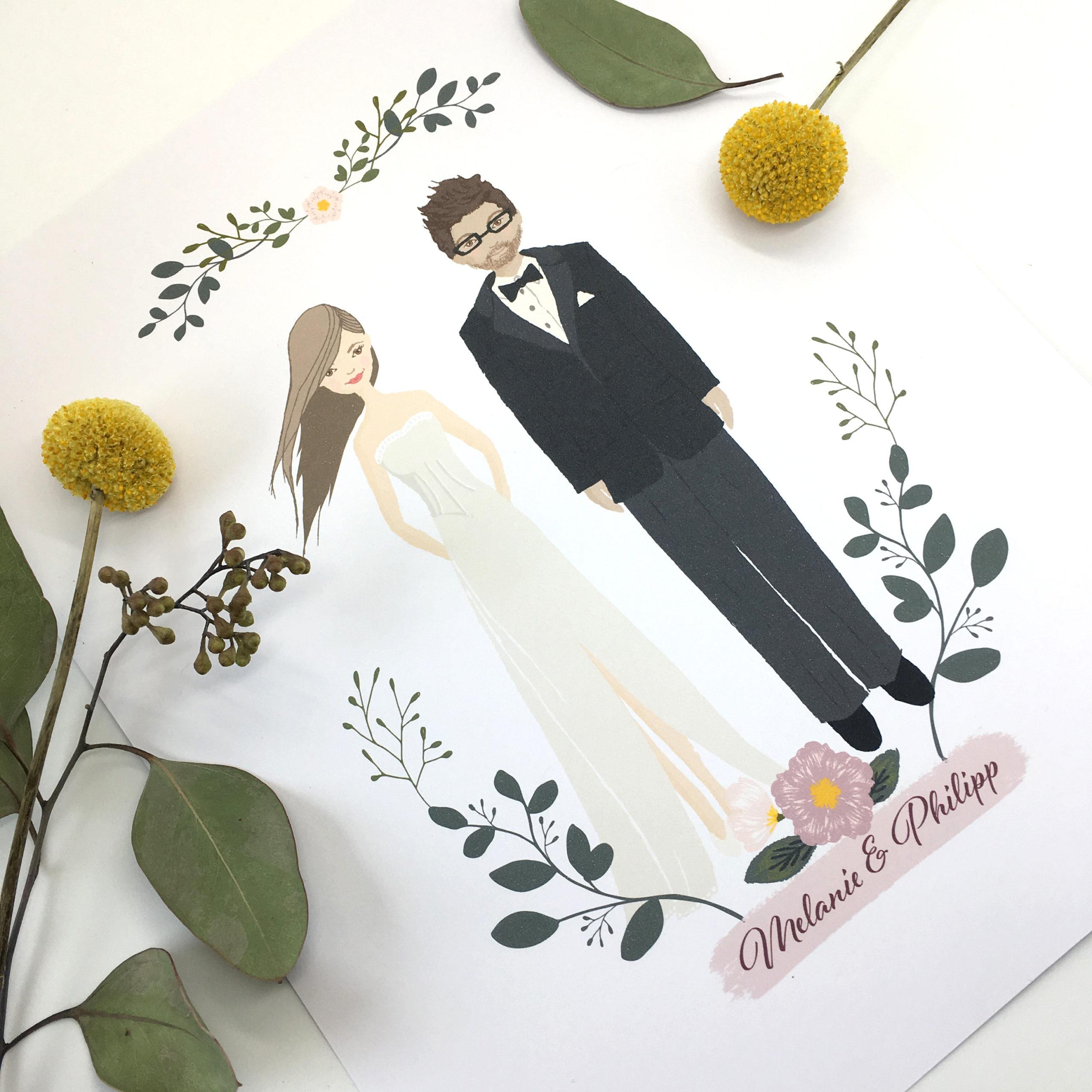 Pärchenportrait Hochzeitsportrait hello! Designstudio