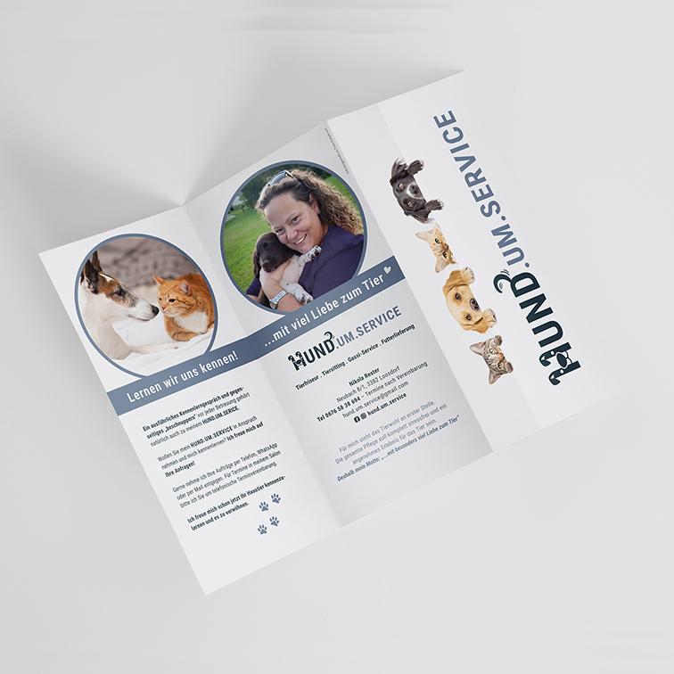 Hund um service, Nikola Rester, Imagefolder hello! Designstudio, Katrin Scheichelbauer
